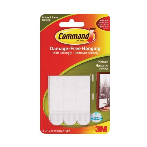 3M Command 17201-4Pk Orta Boy Cırt Cırt Bant