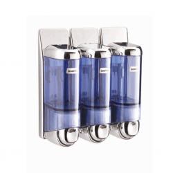 ABS Sıvı Sabunluk ve Şampuan Verici 3 Lü 170ml
