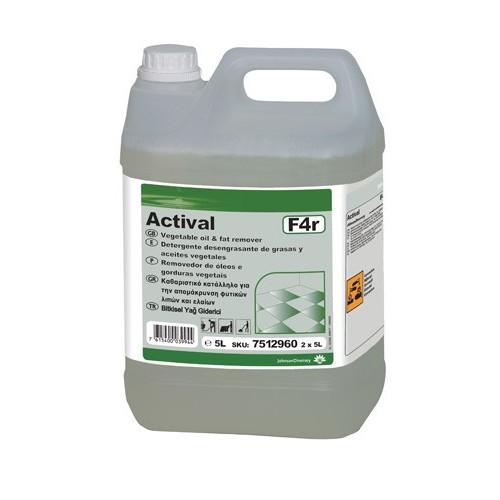 Actival F21 Ağır Kirler İçin Alkali Kir ve Yağ Çözücü