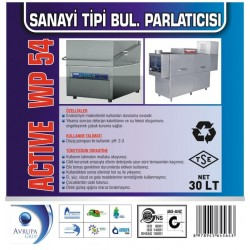 ACTİVE WP54 San.Tipi Bulaşık Mak. Parlatıcısı 30 Litre