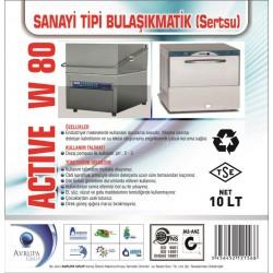 ACTİVE WP55 San.Tipi Bulaşık Mak.Parlatıcısı 10 Litre