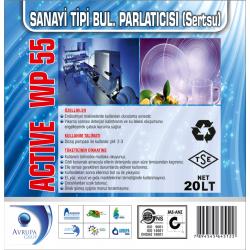 ACTİVE WP55 San.Tipi Bulaşık Mak.Parlatıcısı 20 Litre