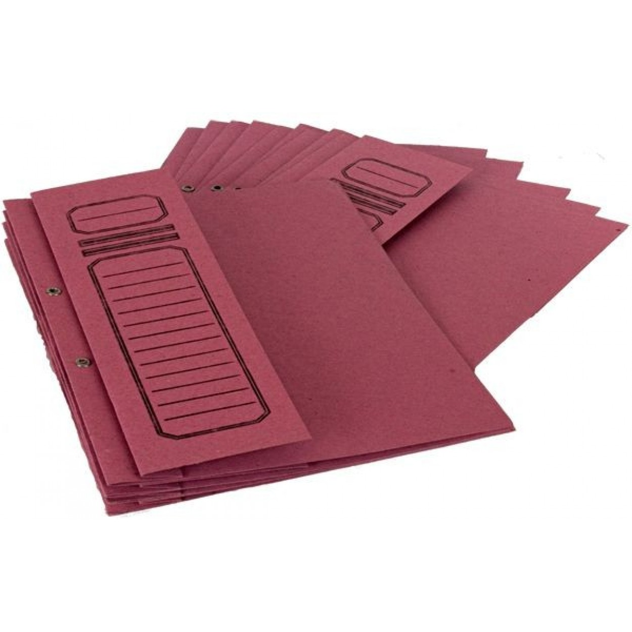 Alemdar Karton Dosya Yarım Kapak A4 50'li Paket