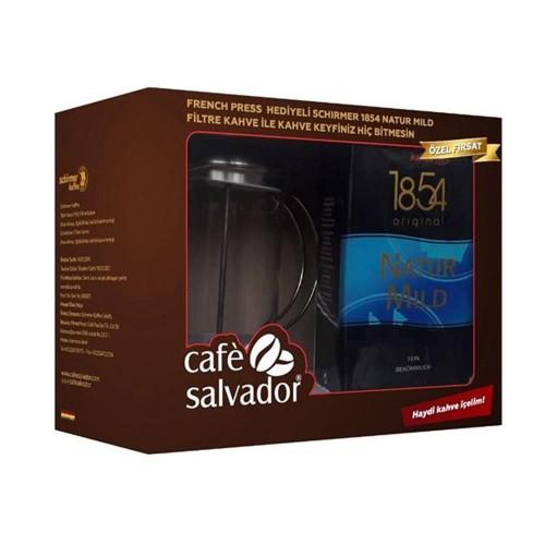 Café Salvador Schirmer Filtre Kahve 500 Gram French Pres Hediyeli