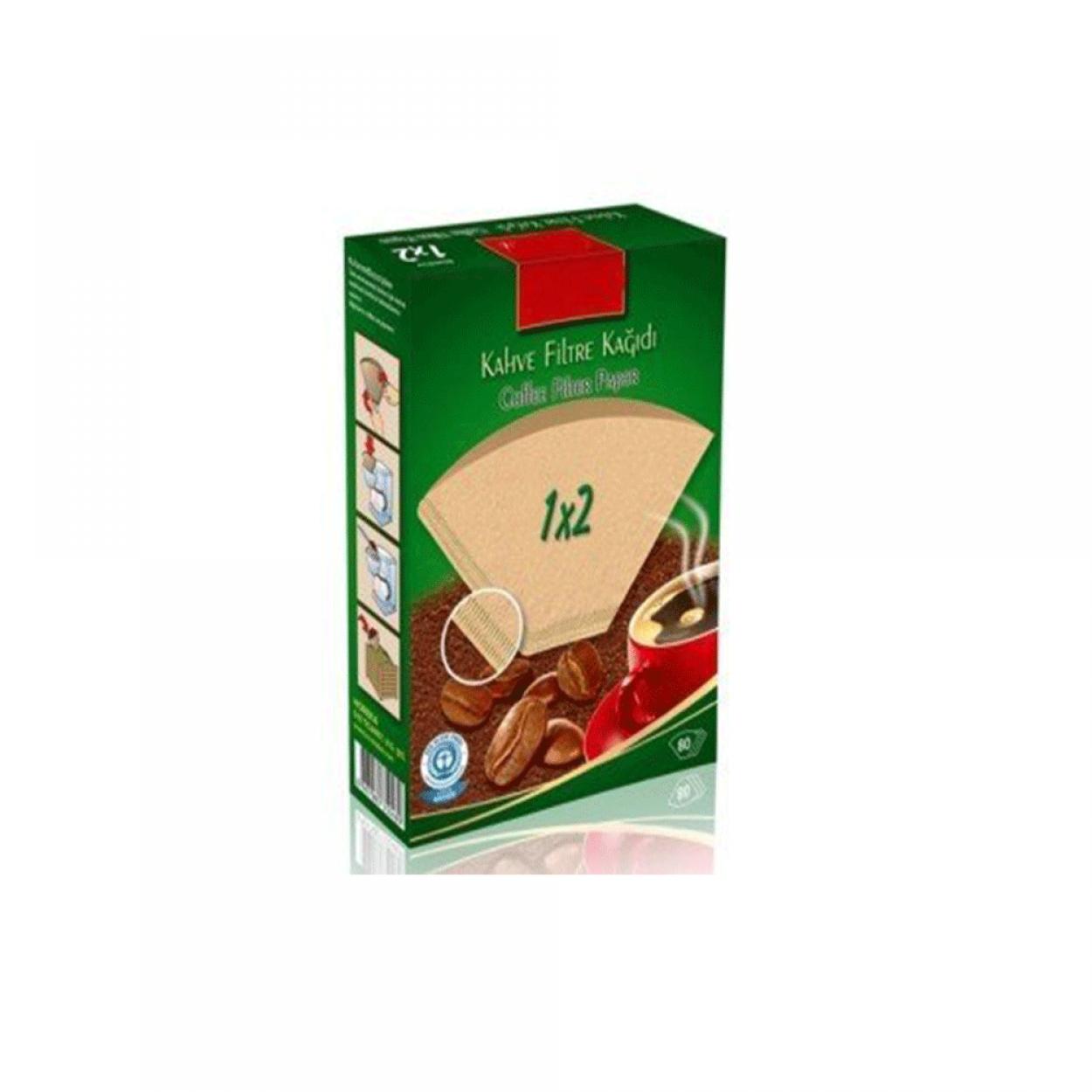 Caffeo Filtre Kahve Kağıdı 1x2 80'li Paket