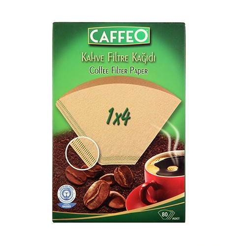 Caffeo Filtre Kahve Kağıdı 1x4 80'li Paket