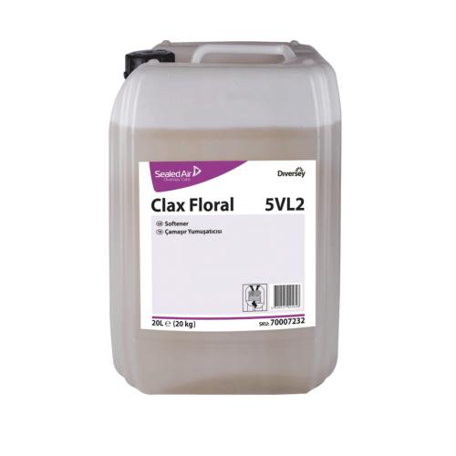 Clax Floral 5VL2 Parfümlü Çamaşır Yumuşatıcı 20 Kg