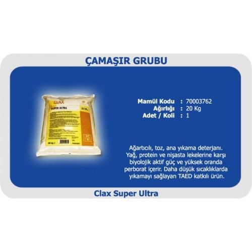 CLAX Super Ultra Ağartıcılı Ana Yıkama Deterjanı