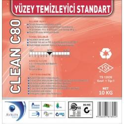 CLEAN C80 Yüzey Temizleyici Standart 10 Kg
