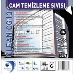Clean CG13 Cam Temizleme Sıvısı 10 Litre