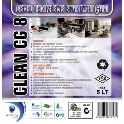 CLEAN CG8 Genel Temizlik Maddesi Çam Kokulu 5 Litre