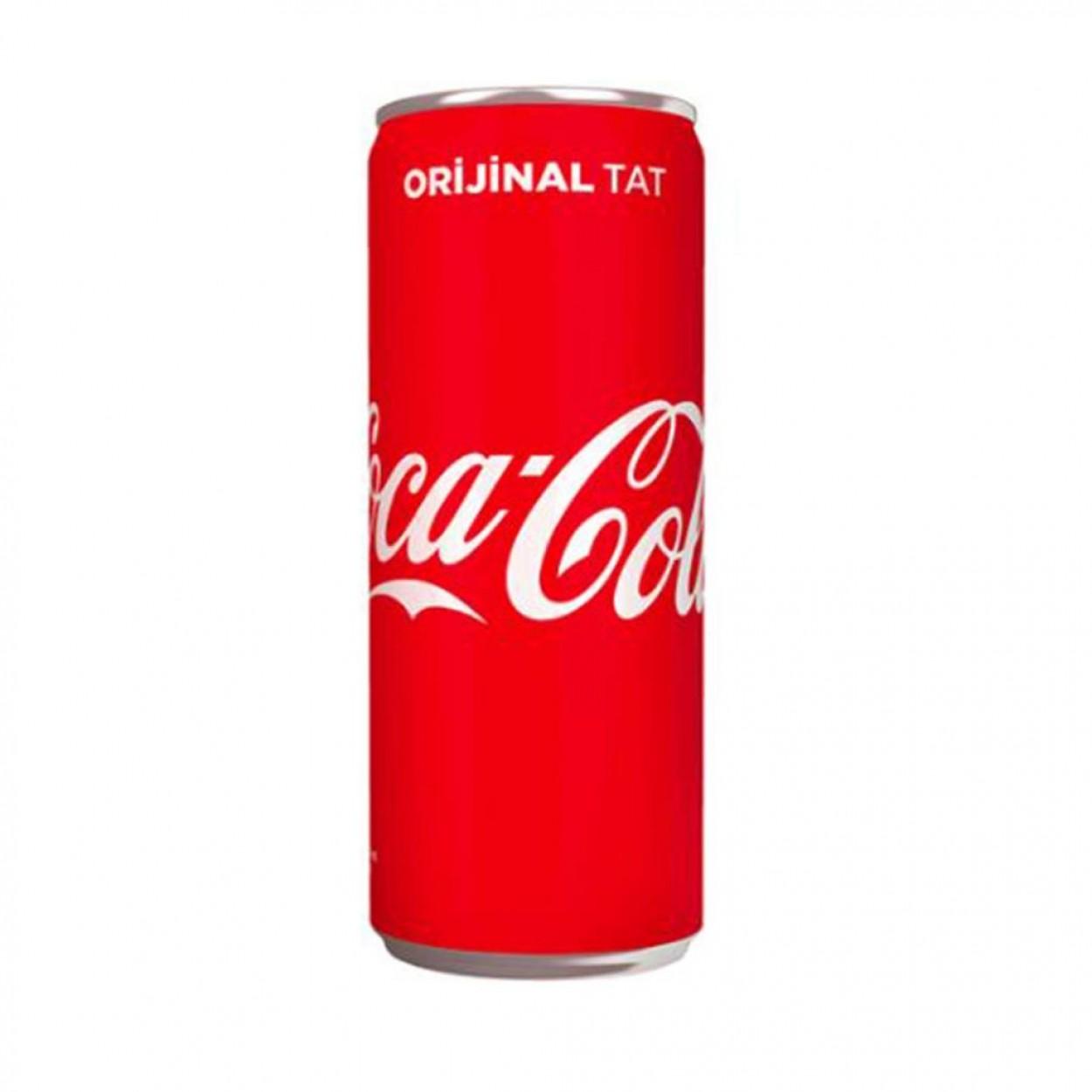 Coca Cola Kutu 330 ML (24 lü)