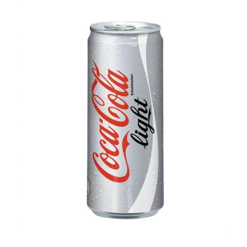 Coca Cola Kutu Light 330 ML (24 lü)
