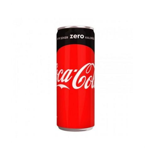 Coca Cola Kutu Zero 330 ML (24 lü)