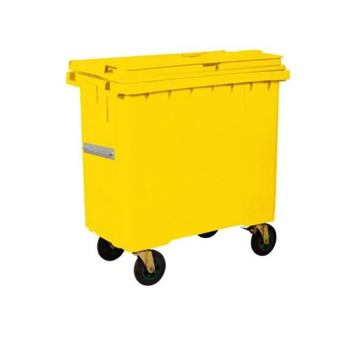 Çöp Konteyner 1100 Litre A Kalite Sarı