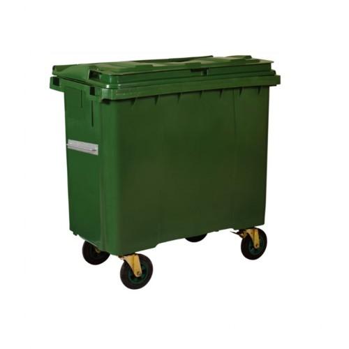 Çöp Konteyner 1100 Litre A Kalite Yeşil