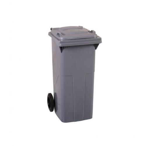 Çöp Konteyner 120 Litre A Kalite Gri