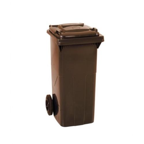 Çöp Konteyner 120 Litre A Kalite Kahverengi