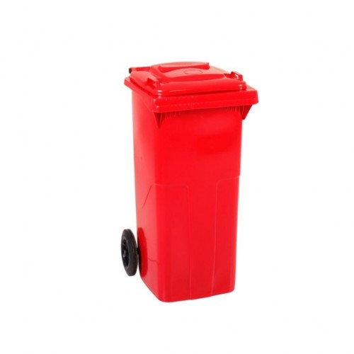 Çöp Konteyner 120 Litre A Kalite Kırmızı