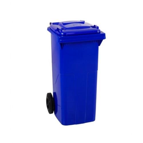 Çöp Konteyner 120 Litre A Kalite Mavi
