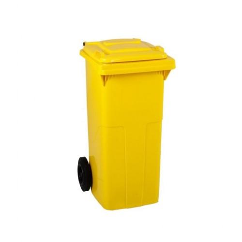 Çöp Konteyner 120 Litre A Kalite Sarı