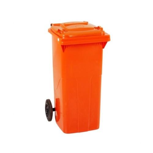 Çöp Konteyner 120 Litre A Kalite Turuncu