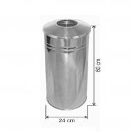 Çöp Kovası Paslanmaz 27 Litre
