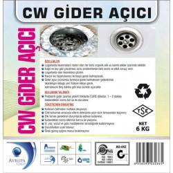 CW Gider Açıcı Sıvı Ürün 6 Kg