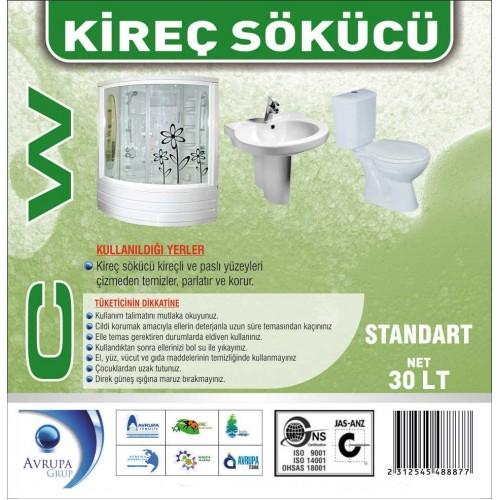 CW Kireç Çözücü / Banyo Temizleyicisi 30 Litre