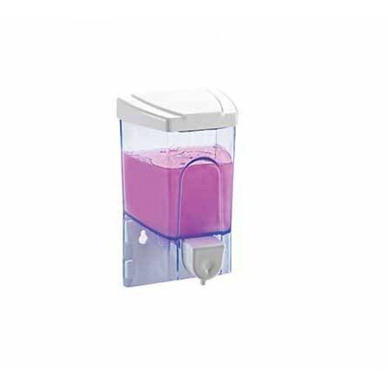 Dikey Sıvı Sabunluk 500 Gr (Şeffaf)