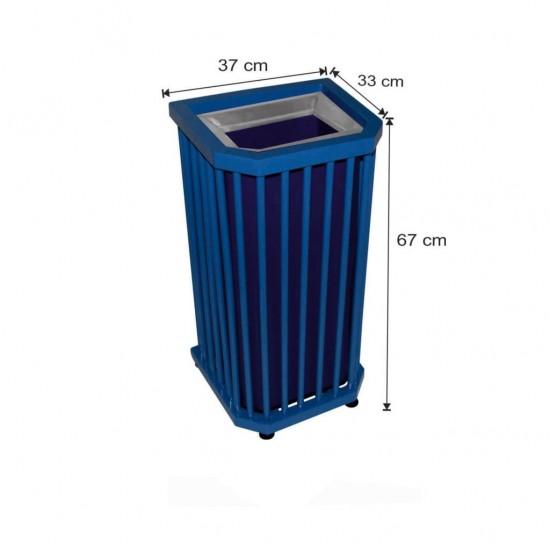 Dış Alan Dekoratif Çöp Kovası 45 Litre