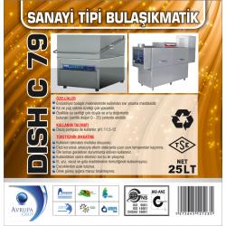 DISCH C79 San.Tipi Bulaşık Makinesi Deterjanı 25 Litre