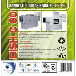 DISCH C80 San.Tipi Bulaşık Mak.Deterjanı 10 Litre