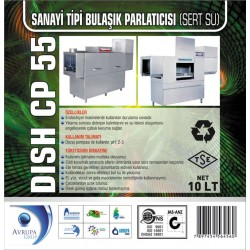 DISCH CP55 San.Tipi Bulaşık Mak.Parlatıcısı 10 Litre