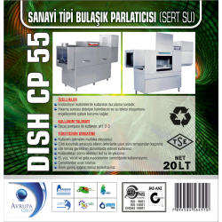 DISCH CP55 San.Tipi Bulaşık Mak.Parlatıcısı 20 Litre