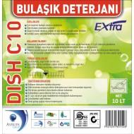 DISH C10 Bulaşık Deterjanı Ekstra 10 Litre