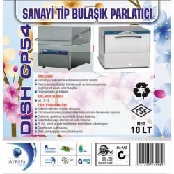 DISH CP54 San.Tipi Bulaşık Mak.Parlatıcısı 10 Litre