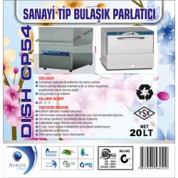 DISH CP54 San.Tipi Bulaşık Mak.Parlatıcısı 20 Litre