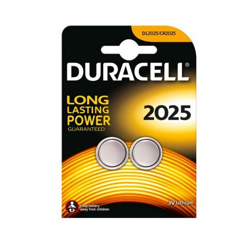 Duracell 2025 3V DL2025/CR2025 Lithium Pil 2 Li