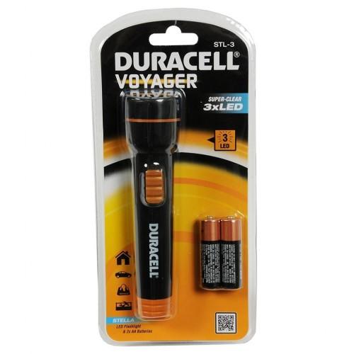 Duracell Stl-3 Led Lambalı El Feneri Kalem Pil Hediyeli