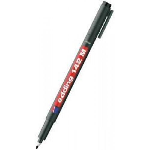 Edding 142M Asetat Kalemi 1mm Kırmızı