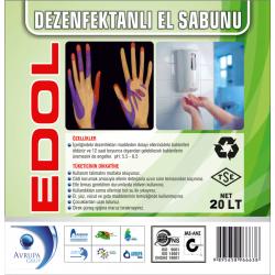 EDOL Dezenfekatnlı Sıvı El Sabunu 20 Litre