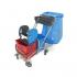 Euro Çöp Toplamalı Krom Taşıyıcılı Sepetli Çift Kovalı Paspas Arabası