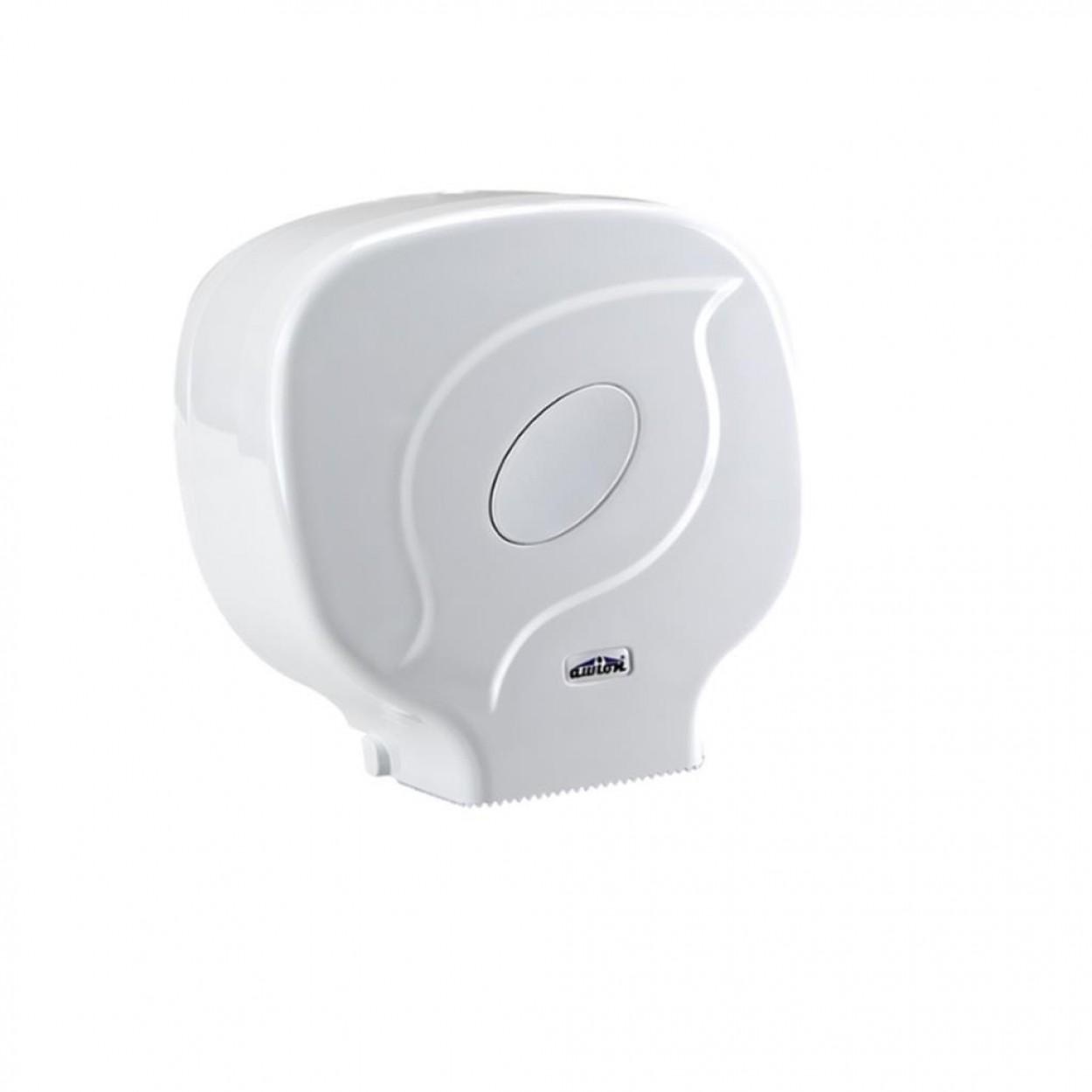 Euro Jumbo Rulo WC Kağıt Dispenseri Beyaz
