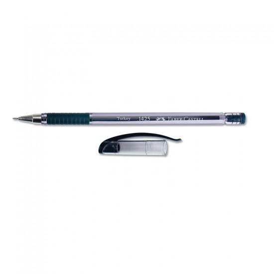 Faber-Castell 1425 Tükenmez Kalem İğne Uç 0.7 mm Siyah