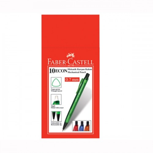 Faber Castell Econ 1343 Versatil 0.7 mm 10'lu