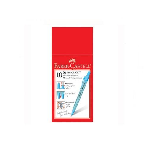 Faber Castell Tri Click Verstail 0.7 mm Kalem 10'lu