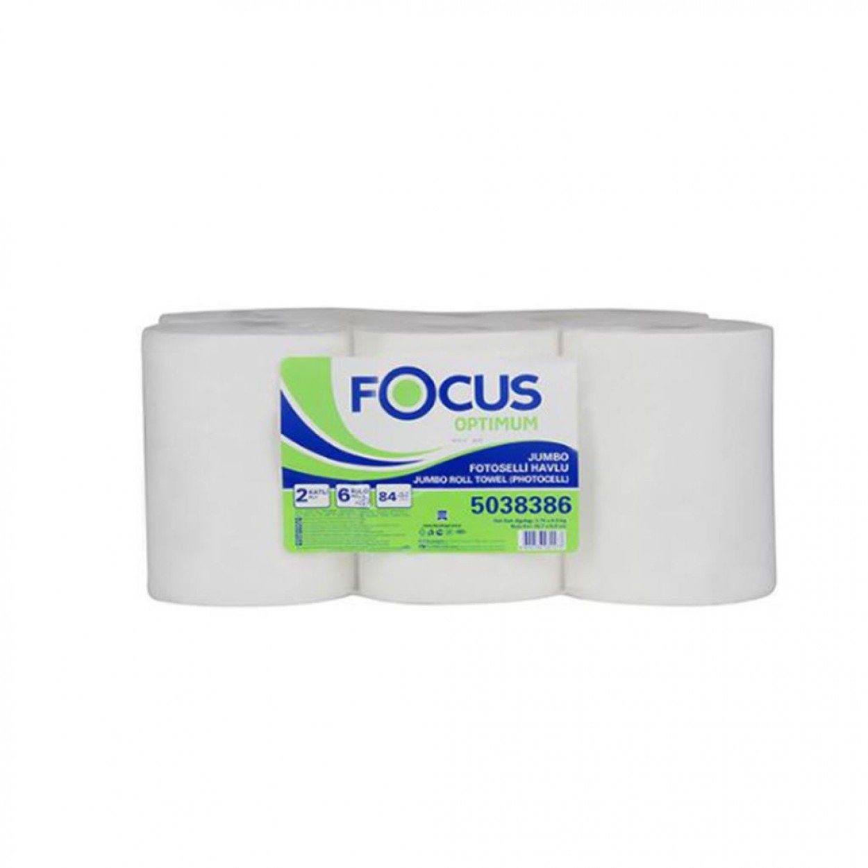 Focus Optimum Hareketli Havlu 21 cm 6 Rulo
