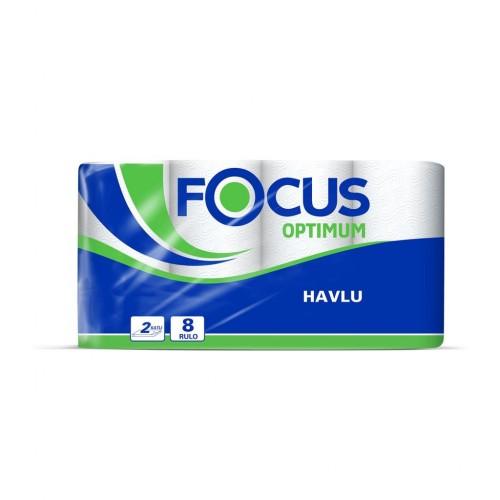 Focus Optimum Rulo Havlu 8'li Paket