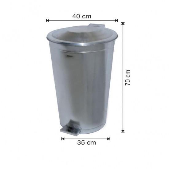 Galvaniz Çöp Kovası 70 Litre